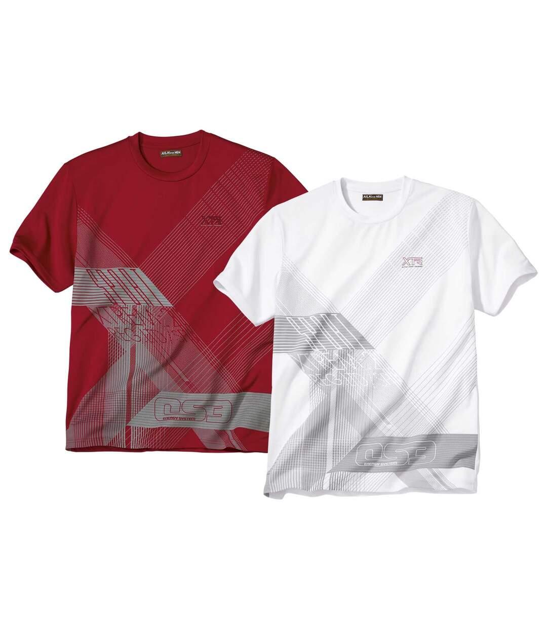 Súprava 2 športových tričiek Sport Energy