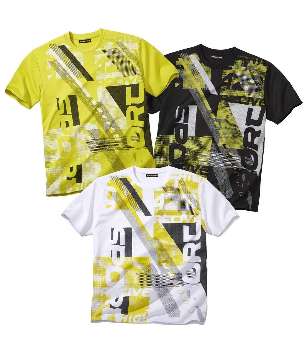 Súprava 3 tričiek Sport Atlas For Men