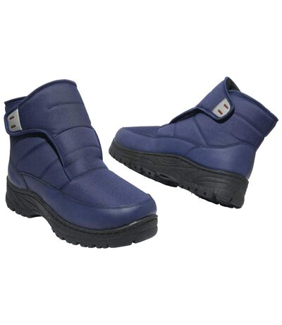 Buty śniegowce z kożuszkiem sherpa