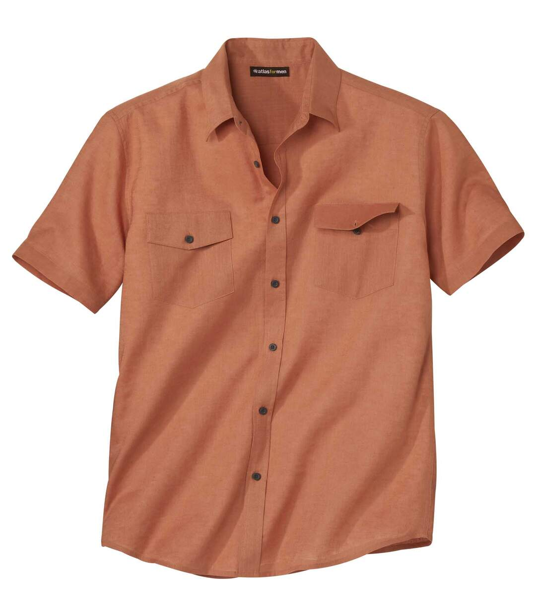 Lniano-bawełniana letnia koszula Atlas For Men