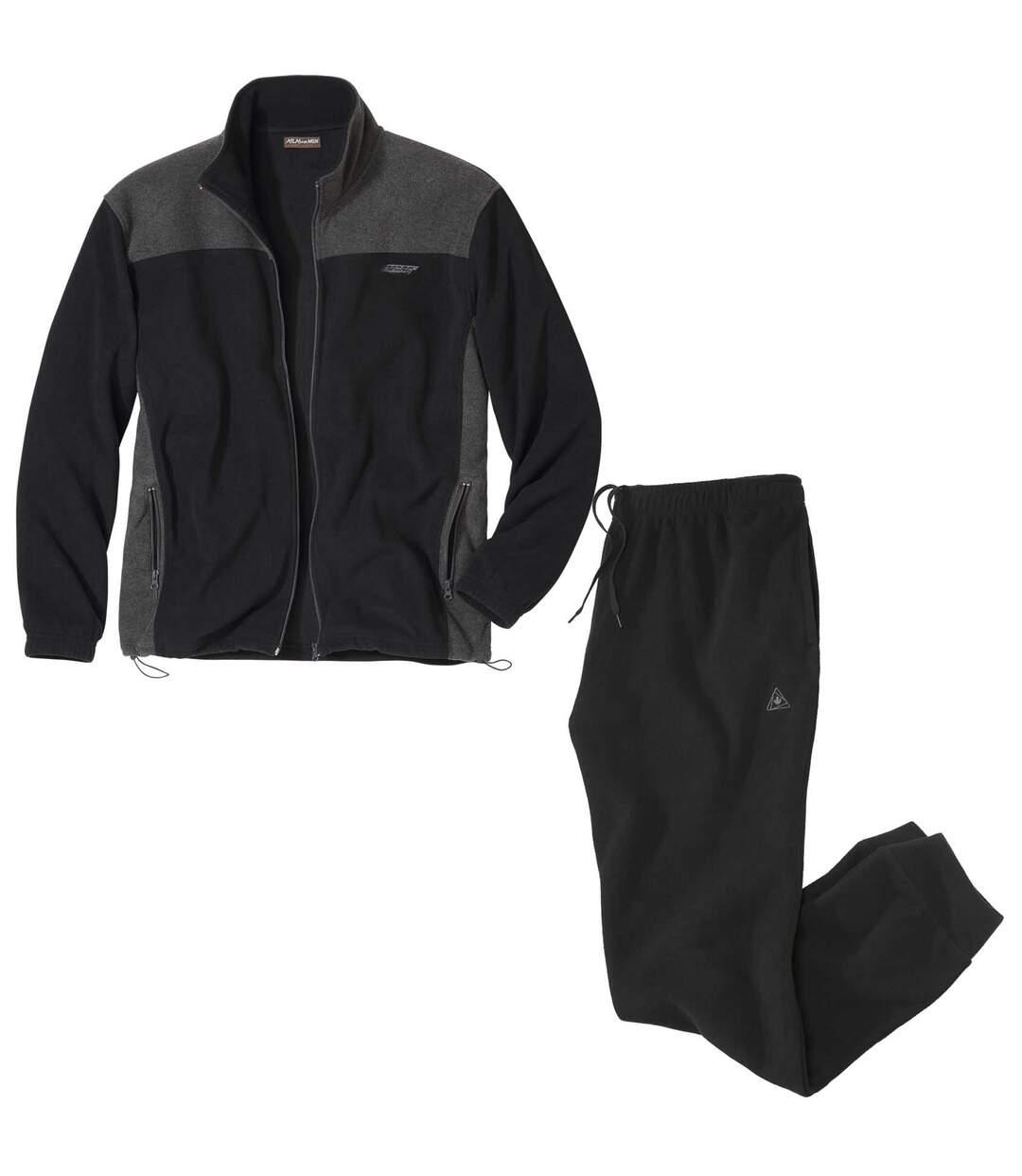 Bequemer Jogging-Anzug aus Fleece