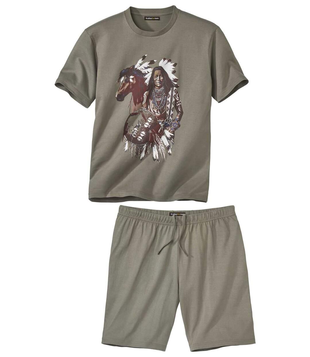Piżama z szortami Indian Spirit