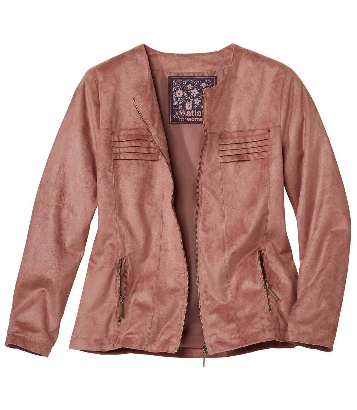 Куртка из Искусственной Замши на Молнии Atlas For Men