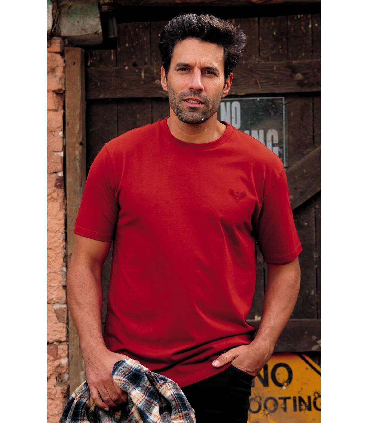 Pack of 3 Men's Soft T-Shirts Atlas For Men