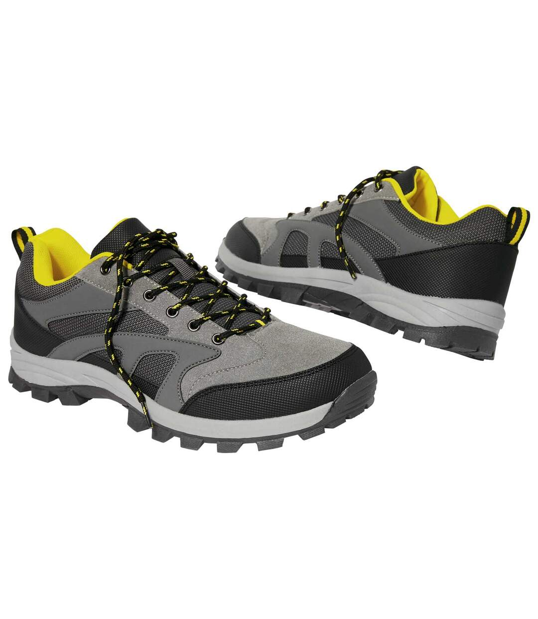Men's Casual Sports Shoes - Grey