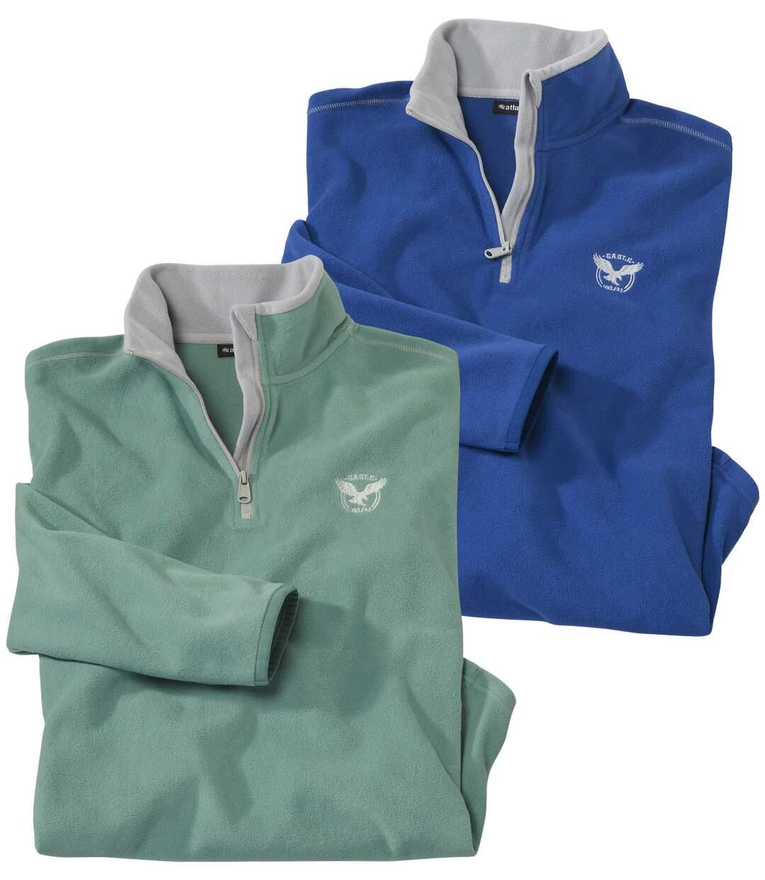 Set van 2 Eagle sweaters van microfleece