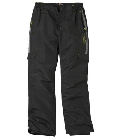 Men's Black Winter Sport Ski Pants