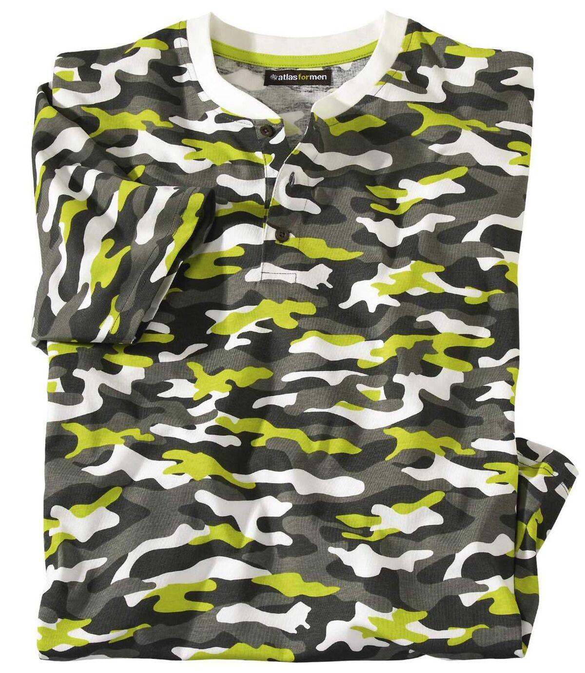 Men's Camouflage Print T-Shirt Atlas For Men