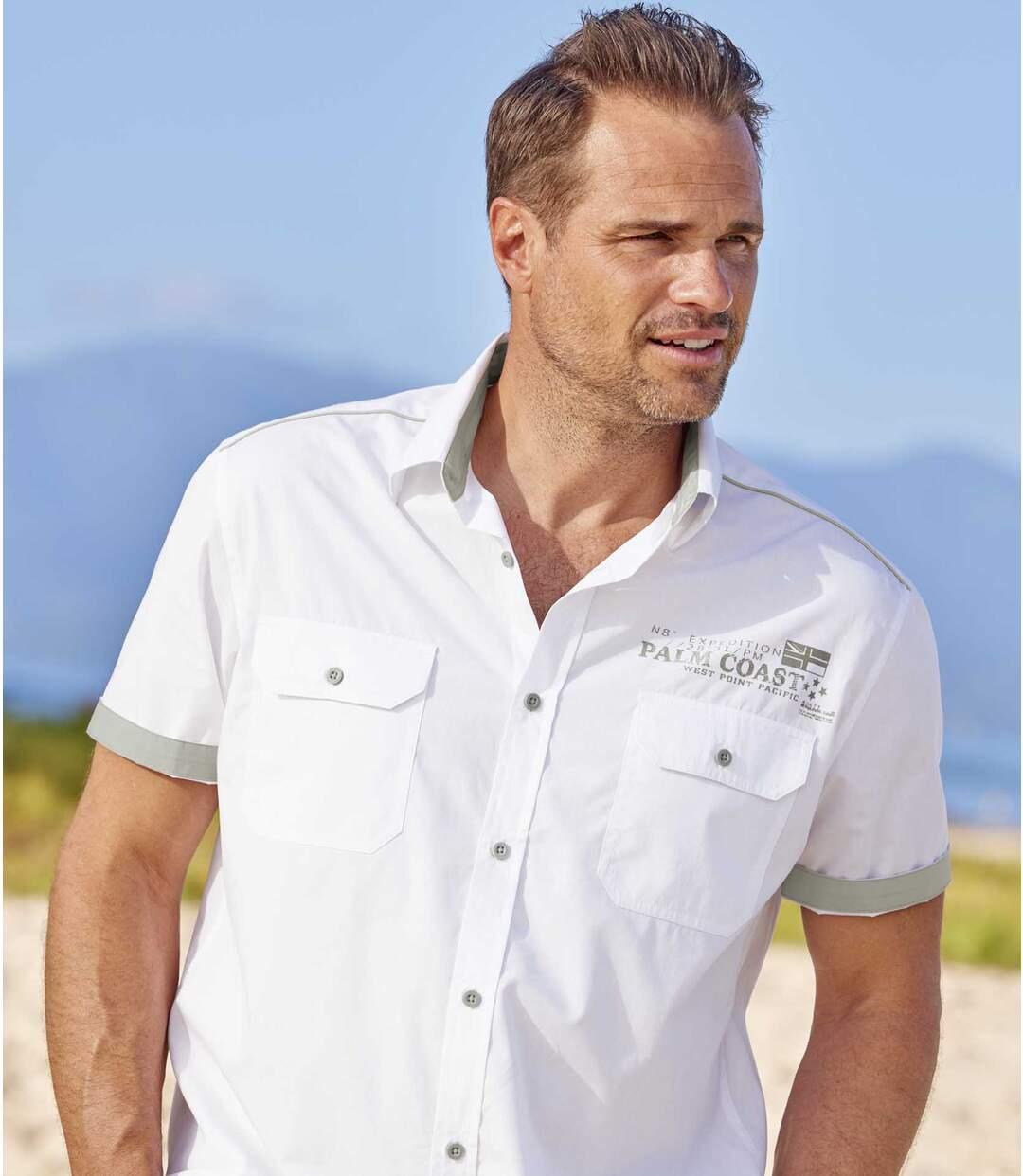 Biała koszula Palm Coast