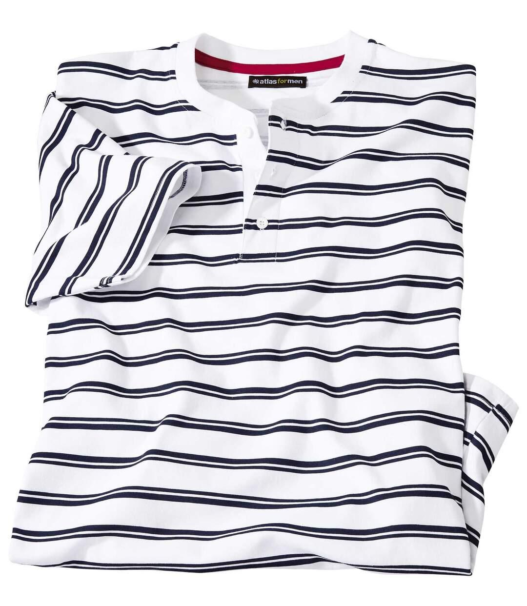 Henley-Shirt im Matrosen-Look