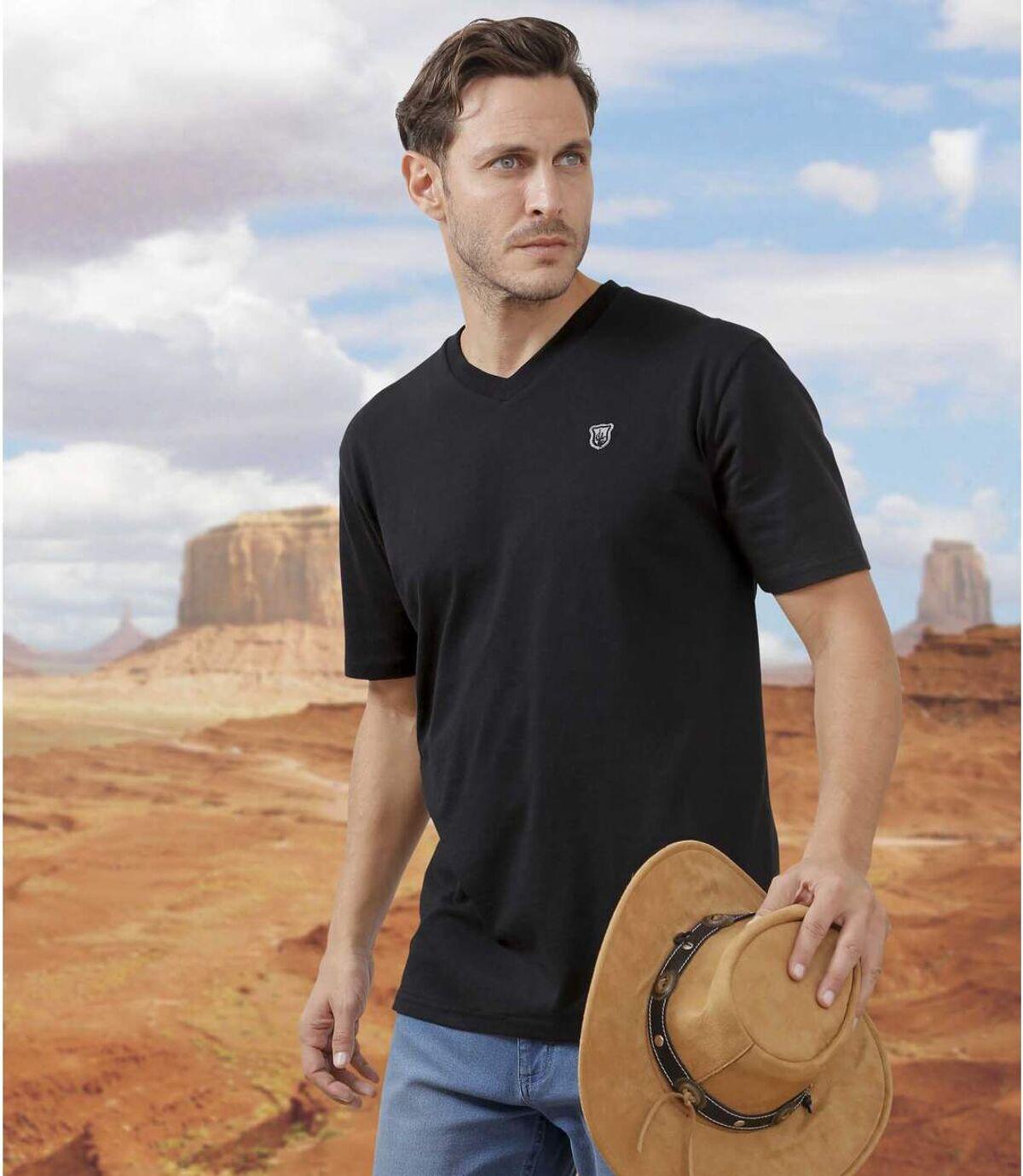 Súprava 4 tričiek Arizona Land Atlas For Men
