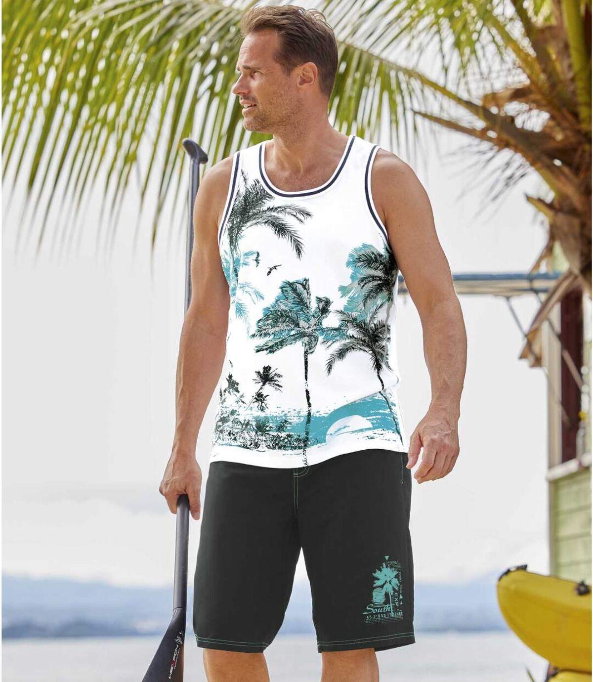 Bermudy kąpielowe Ocean Beach Atlas For Men
