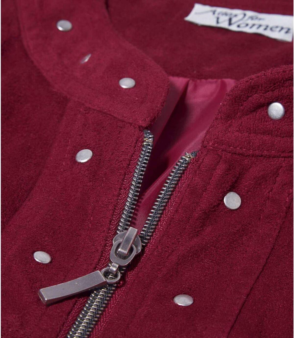 Куртка из Искусственной Замши Atlas For Men