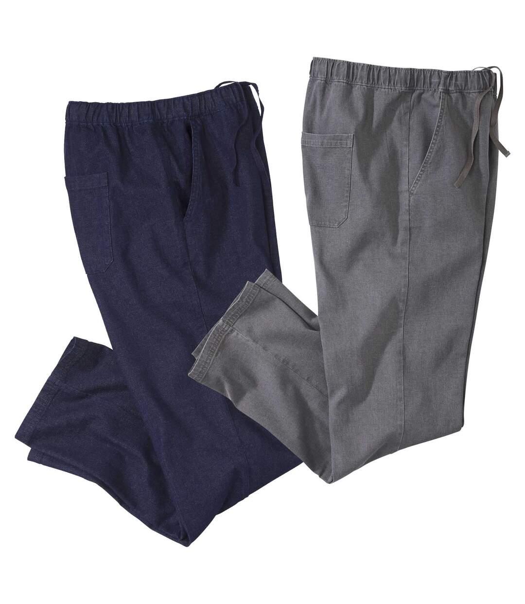 Súprava 2pohodlných džínsov