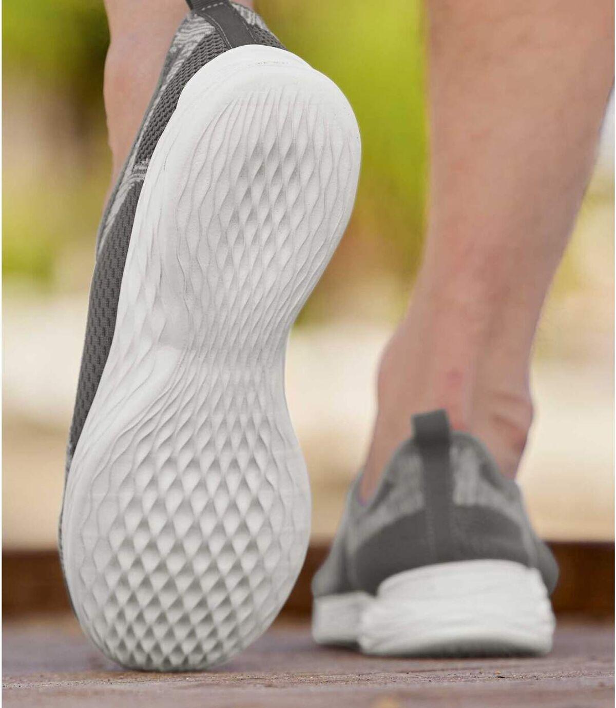 Men's Grey Lightweight Sneakers Atlas For Men