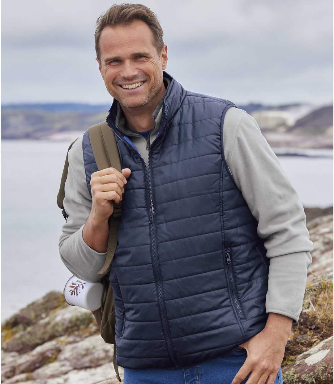 Men's Navy Padded Vest Atlas For Men