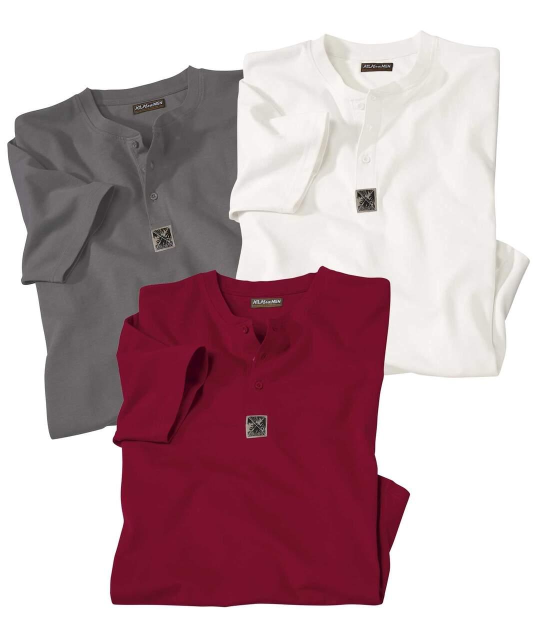 Set van 3 geknoopte t-shirts