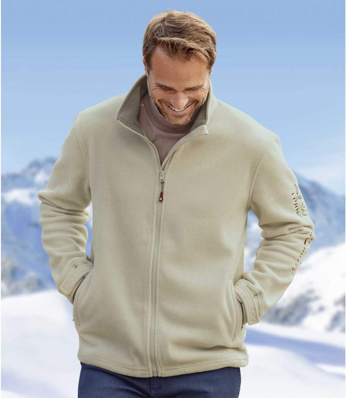 Winter polár cipzáras pulóver Atlas For Men