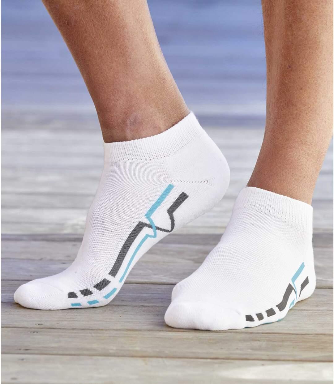 Sada 4 párů kotníkových ponožek Spor