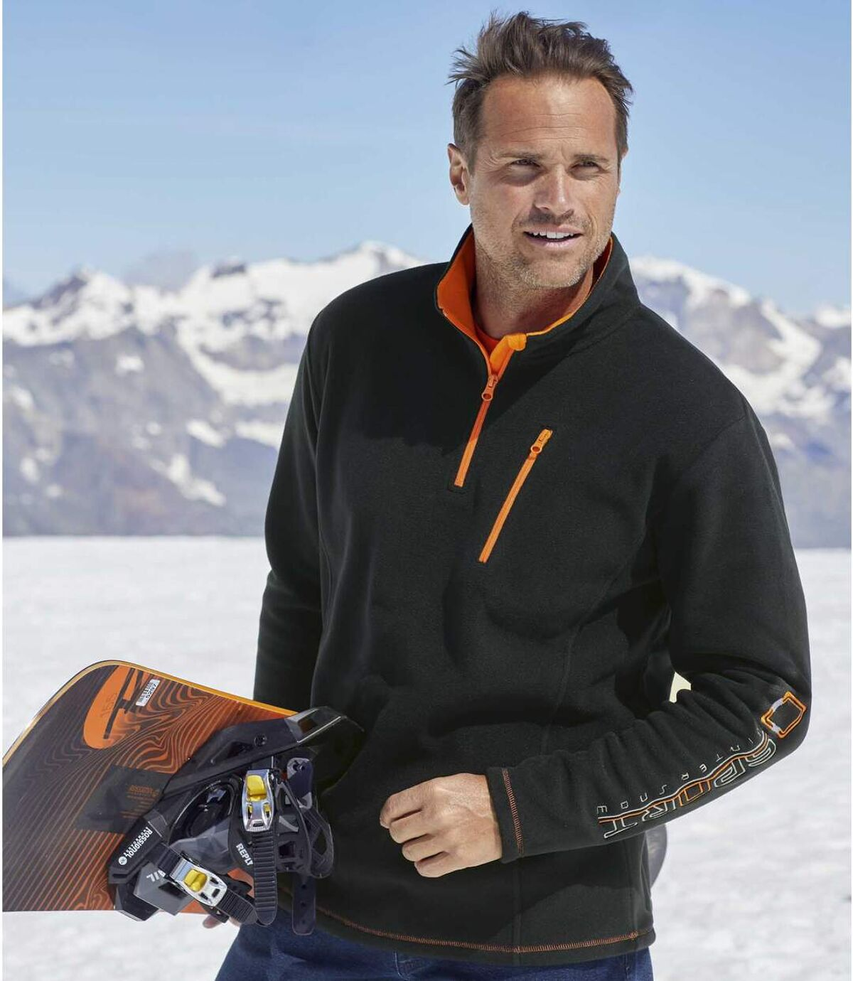 Fleecová mikina Snow Sport Atlas For Men