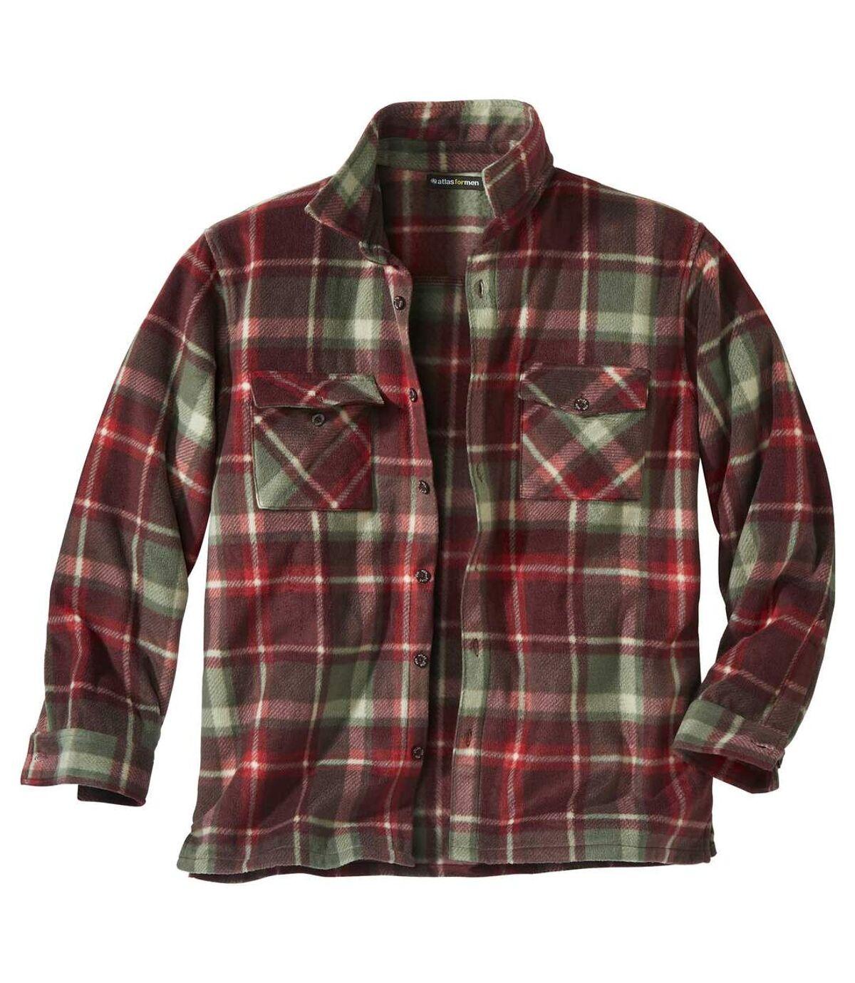 Svrchní košile Scotland zkostkovaného fleecu Atlas For Men