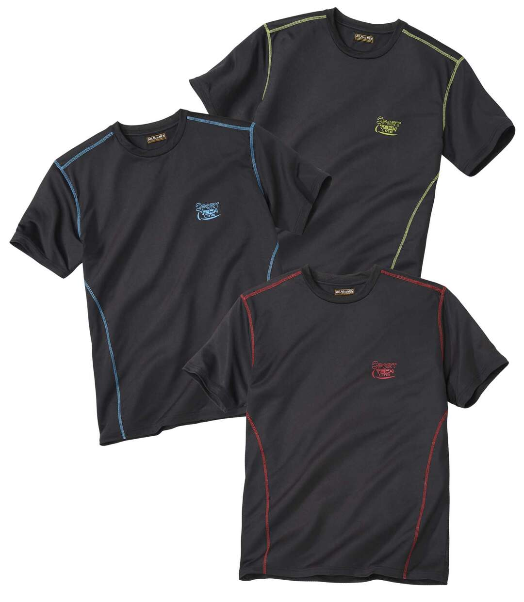 Set van 3 Sporting Line T-shirts