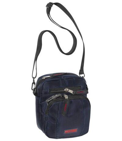 Men's Blue Cross-Body Bag