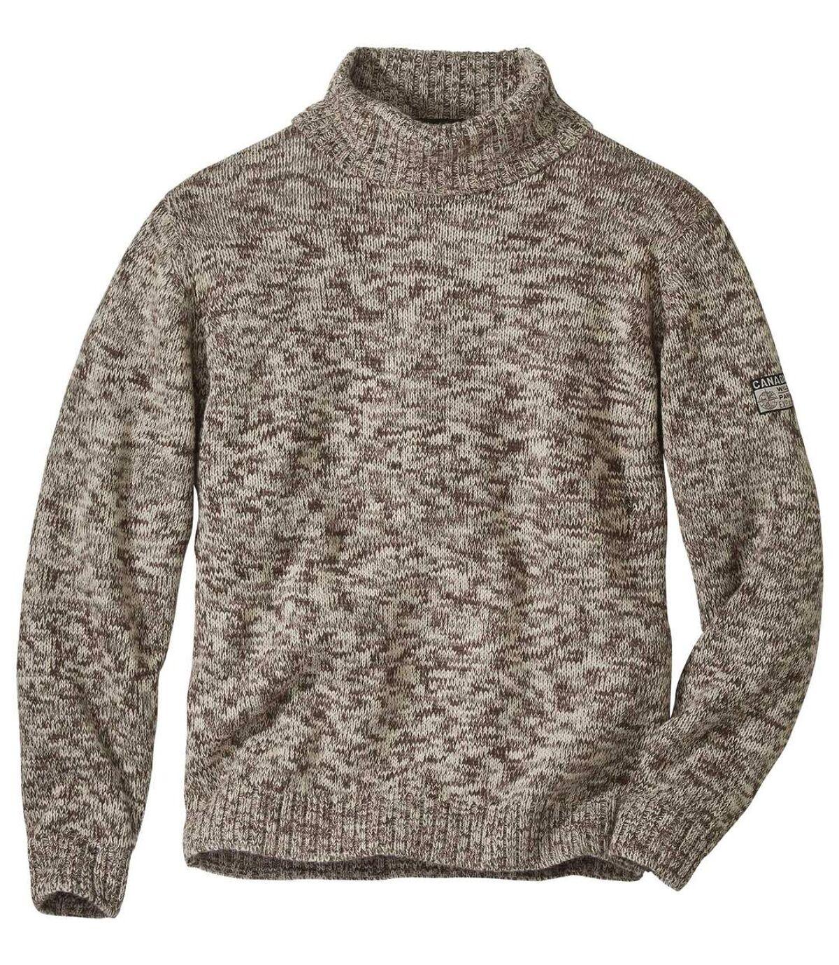 Canadian garbó nyakú kötött pulóver  Atlas For Men