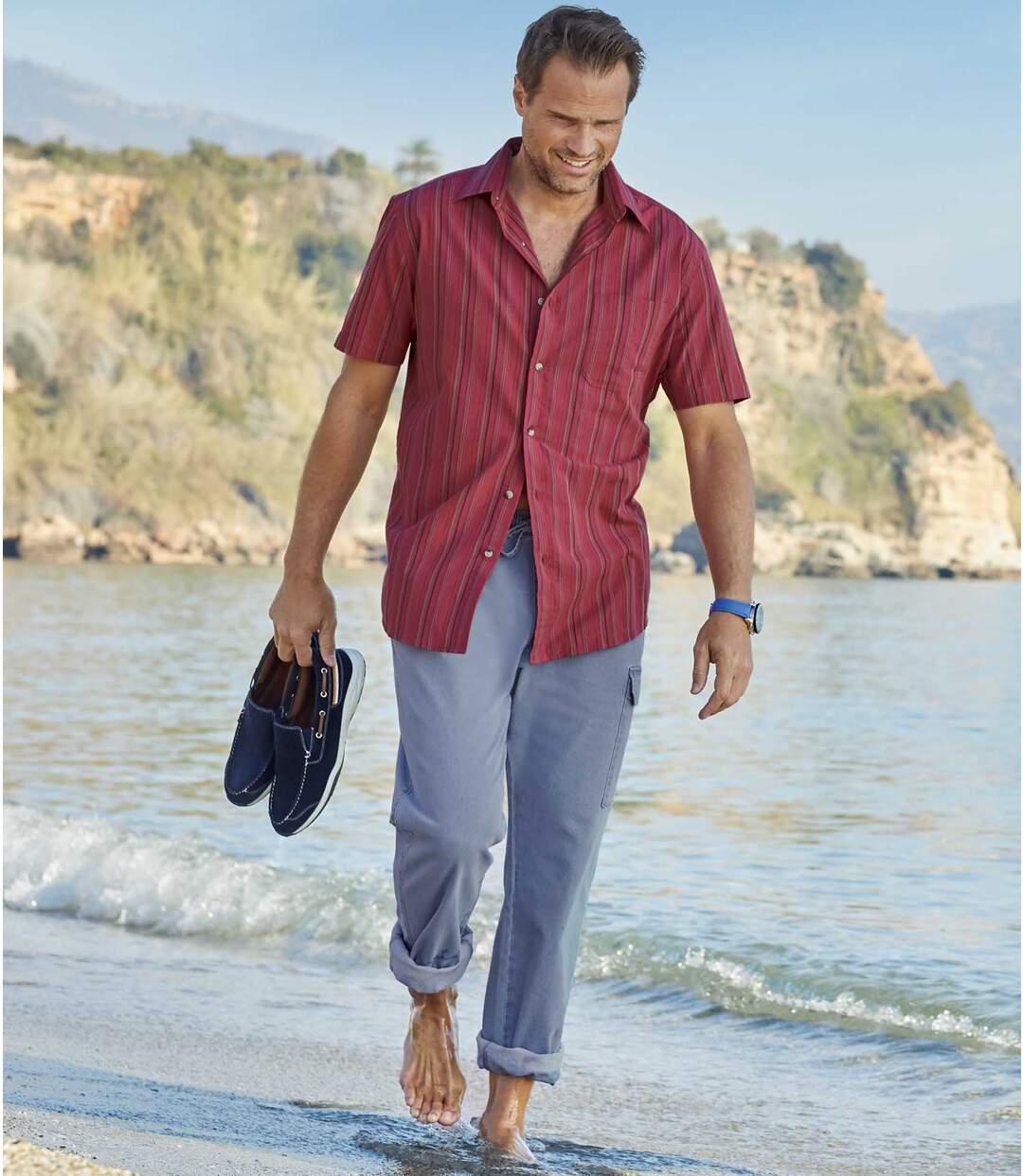 Letnie wygodne jeansy-bojówki