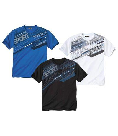 3er-Pack T-Shirts Running