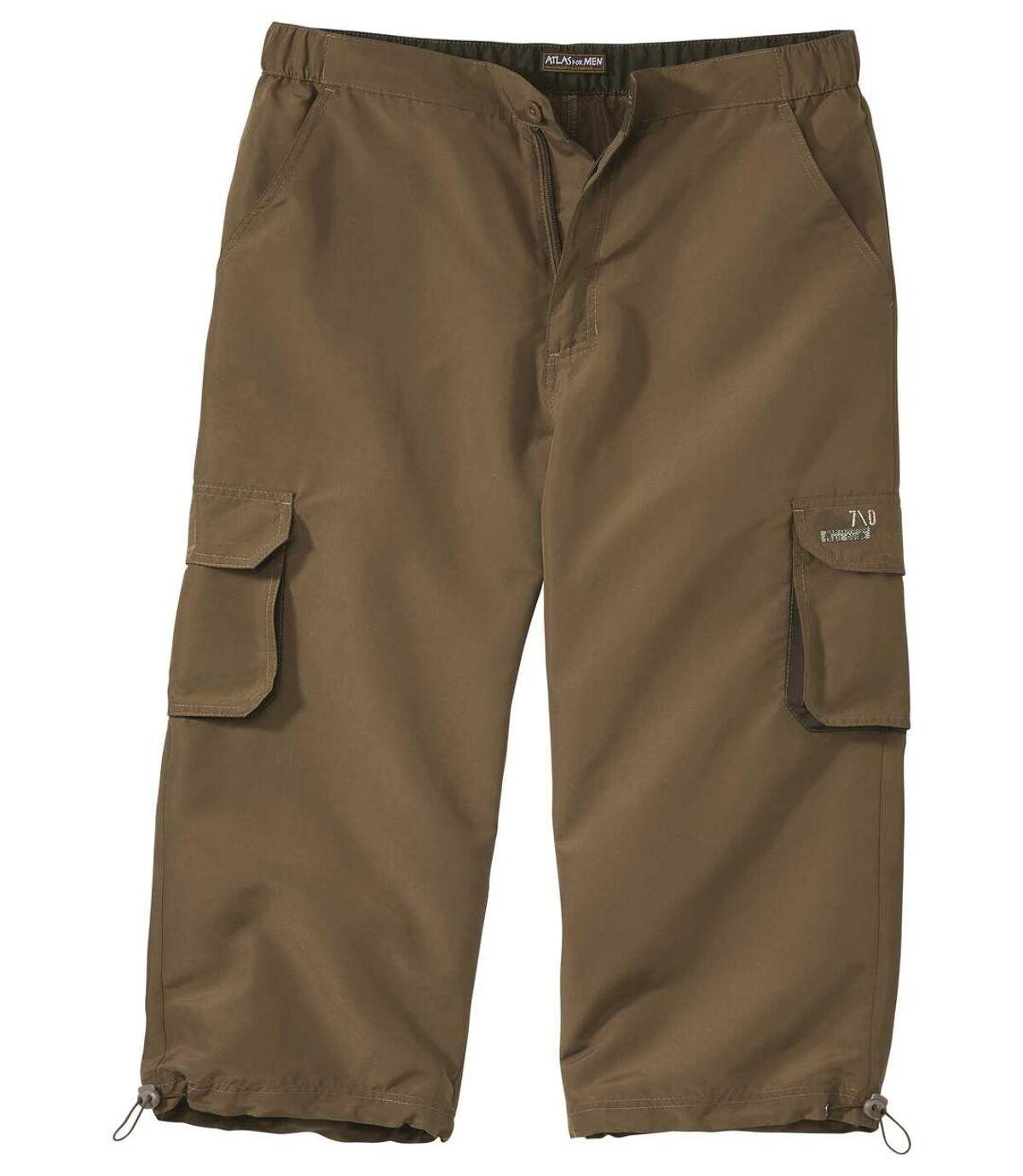 Trojštvrťové mikrovláknové nohavice Holidays Atlas For Men