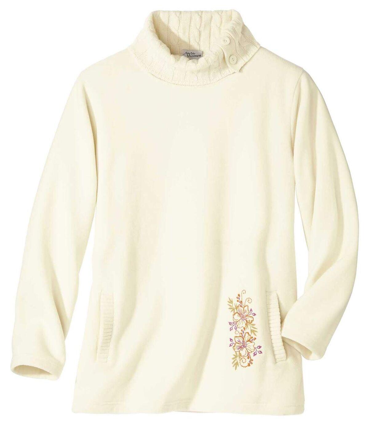 Sweter z polaru i trykotu Atlas For Men