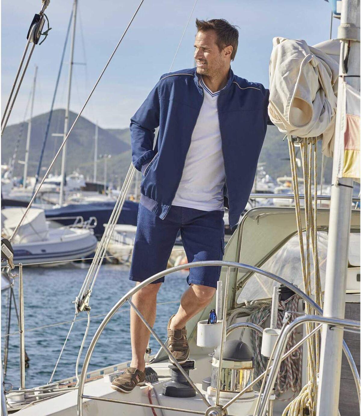 Twill-Jacke Navy Atlas For Men