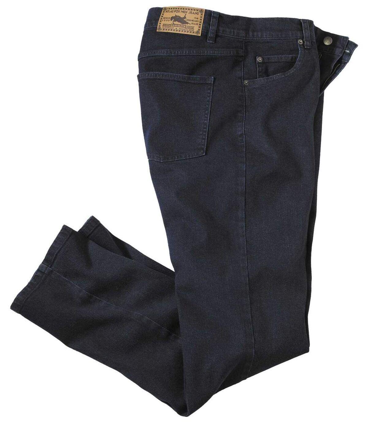 Niebieskie jeansy ze stretchem Atlas For Men