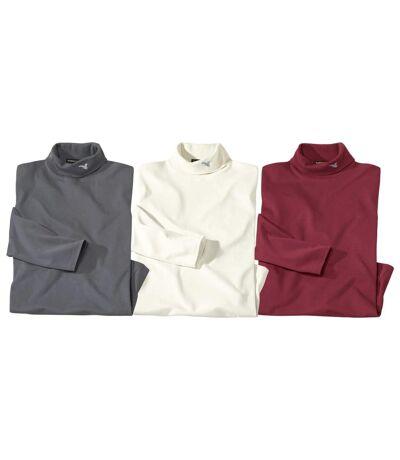 3 darabos, kényelmes aláöltöző felső szett