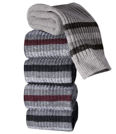Pack of 5 Pairs of Men's Sports Socks