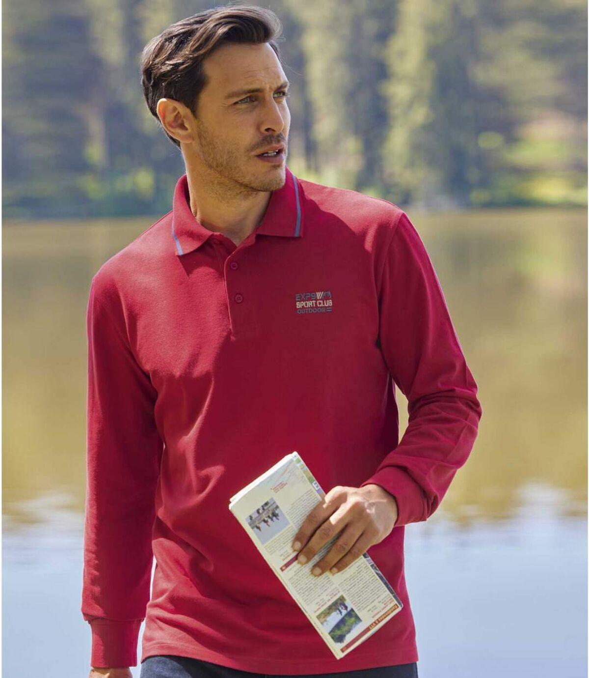 Sada 2 polo triček Sporting zbavlněného piké Atlas For Men
