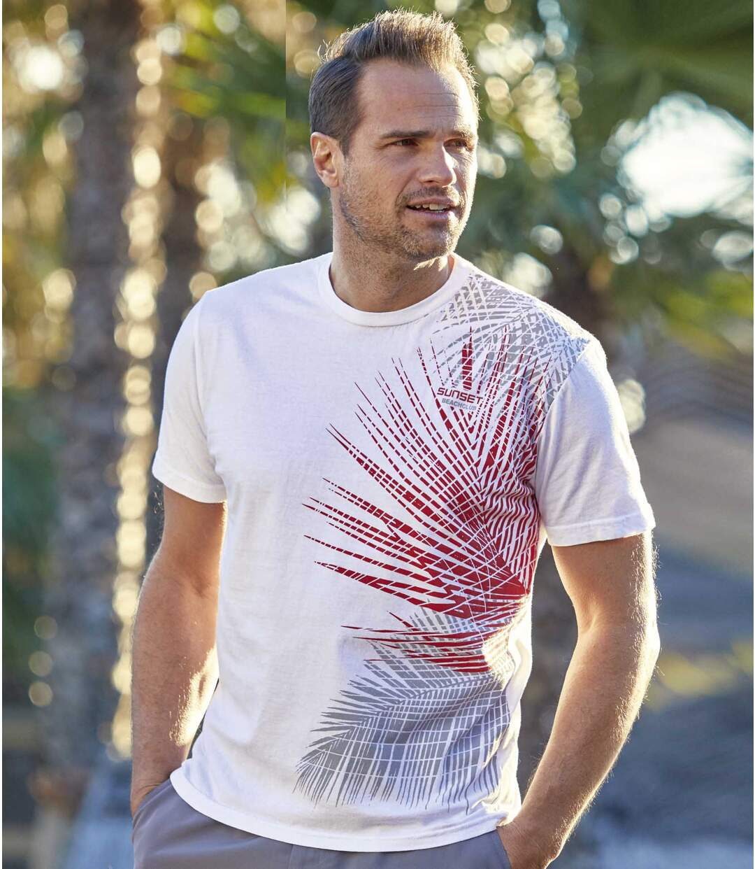 Set van 3 Sunset Beachclub T-shirts