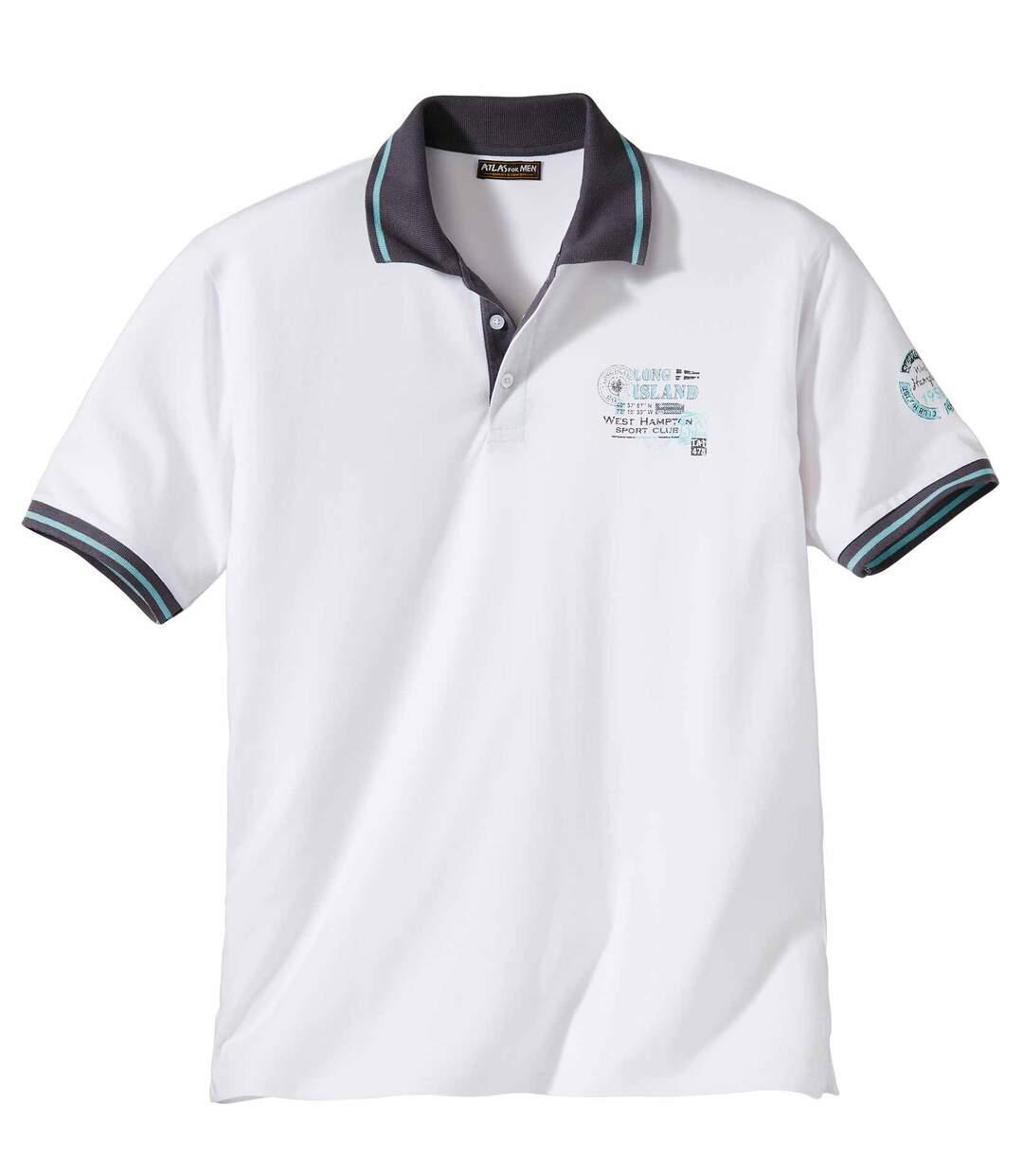 Poloshirt aus Jersey Atlas For Men