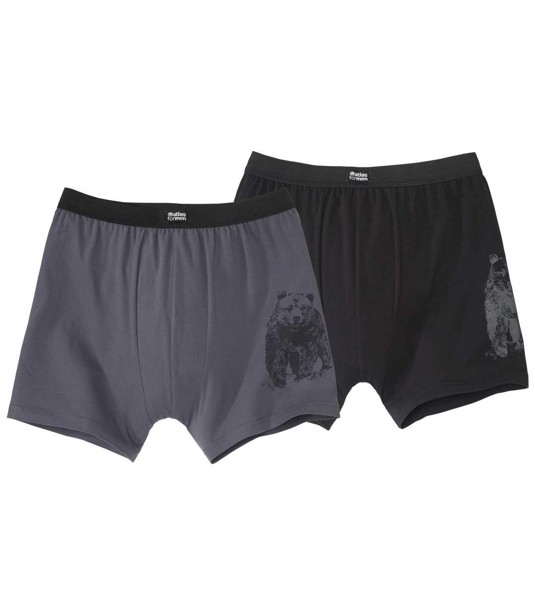Set van 2 supercomfortabele boxershorts
