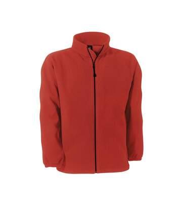 B&C Mens Windprotek Full Zip Waterproof & Windproof Jacket (Red) - UTRW3520