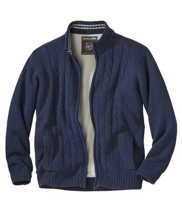 Superzacht vest vantricot en fleece