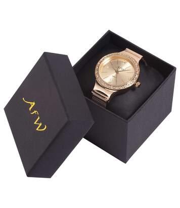 Het horloge BijouVersierd met Swarovski®-kristallen