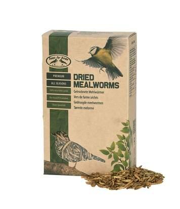 Vers de farine séchés pour oiseaux