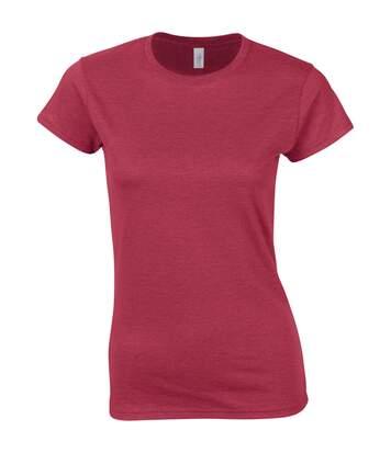 Gildan - T-Shirt À Manches Courtes - Femme (Rouge cerise antique) - UTBC486