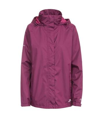 Trespass Womens/Ladies Lanna II Waterproof Jacket (Grape Wine) - UTTP3279