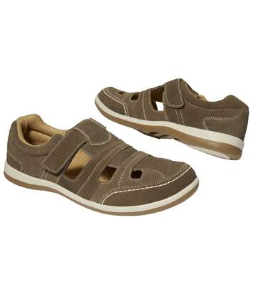 Men's Brown Casual Summer Moccasins