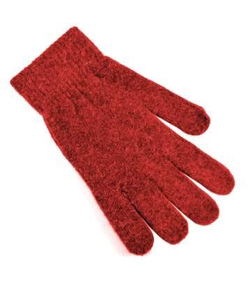 Gants Magiques En Laine - Femme (Rouge) - UTGL472