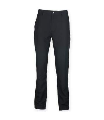 Finden & Hales Mens Zip Fly Sports Chino Trousers (Black) - UTRW4693