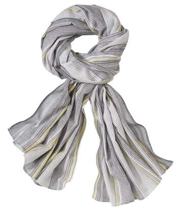 Men's Light Striped Scarf